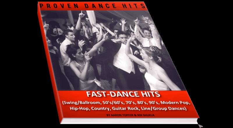 Fast Dance Hits | WeddingMusicPlanning.net