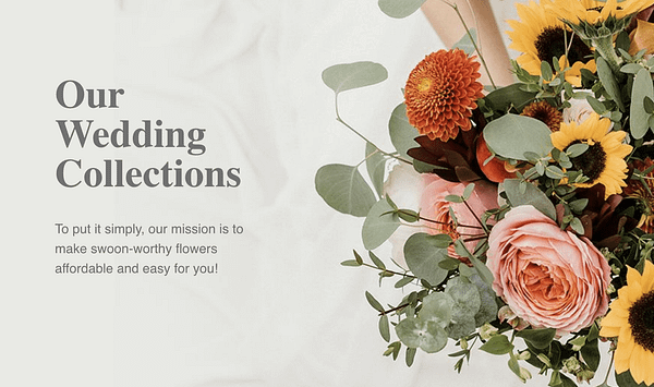 Wedding Collections - FiftyFlowers.com